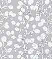 Honesty,-taupe/pearl-Blätter-Äste-Florale-Muster-Moderne-Muster-Silber-Grau-Weiß