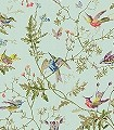 Hummingbirds,-col.04-Blumen-Tiere-Vögel-Fauna-Florale-Muster-Multicolor-mint