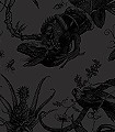 Iguana,-black-on-black-Tiere-Moderne-Muster-Schwarz