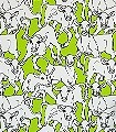 Iltavilli,-col.05-Tiere-Zeichnungen-Fauna-Moderne-Muster-Hellgrün
