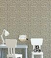 Impass,-col.-22-Graphisch-Grafische-Muster-Art-Deco-Grün-Gold-Weiß