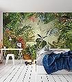 Into-the-Wild,-col.01-Tiere-Bäume-Blätter-Vögel-FotoTapeten-Multicolor