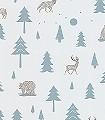 Into-the-Wild,-storm-green-Tiere-Bäume-KinderTapeten-Grau-Anthrazit-petrol