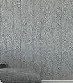 Itaya,-col.-4-Blätter-Florale-Muster-Grau