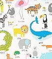 Iwan,-col.07-Tiere-KinderTapeten-Weiß-Multicolor