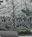 JARDIN-D-HIVER-Blumen-Bäume-Landschaft-Blätter-Florale-Muster-FotoTapeten-Multicolor