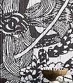 Jailolo,-col.-80-Blumen-Blätter-Florale-Muster-Schwarz-Weiß-Schwarz-und-Weiß