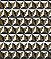 Joel,-col.05-Rauten-Dreiecke-3D-Tapeten-Grafische-Muster-Rot-Gold-Weiß
