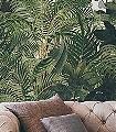 Journeys-Amazonia,-col.-01-Blätter-Florale-Muster-FotoTapeten-Grün-Creme