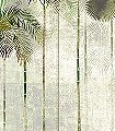 Jungle-greenery,-col.-2-Tiere-Bäume-Landschaft-Blätter-Vögel-Fauna-Florale-Muster-Moderne-Muster-FotoTapeten-Multicolor