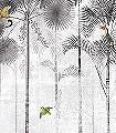 Jungle-moon,-col.-3-Tiere-Bäume-Landschaft-Blätter-Vögel-Fauna-Florale-Muster-Moderne-Muster-FotoTapeten-Multicolor