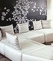 Kado,-col.-3-Blumen-Mosaik-Moderne-Muster-Grau-Schwarz-Weiß-Schwarz-und-Weiß