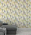 Karlo,-col.03-Quadrate/Rechtecke-Graphisch-Dreiecke-Grafische-Muster-Grau-Gelb-Anthrazit-Weiß