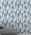 Karlo,-col.07-Quadrate/Rechtecke-Graphisch-Dreiecke-Grafische-Muster-Blau-Weiß-Hellblau