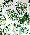 Kelapa,-col.-3-Blätter-Florale-Muster-Rot-Grün-Weiß