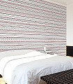Knitwear-Streifen-Strick-Moderne-Muster-Rot-Schwarz-Hellgrün-Weiß