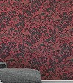 Konstanze-Bäume-Florale-Muster-Orientalisch-Rot-Grün-Schwarz