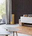 Kordula,-col.-1-Quadrate/Rechtecke-Klassische-Muster-Textil-&-NaturTapeten-Braun-Creme