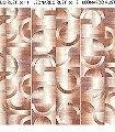 LEONARDO-RUST,-col.-3-Kreise-Farbverlauf-Moderne-Muster-Grafische-Muster-Braun-Orange-Creme