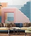La-Muralla,-col.-10-Gebäude-FotoTapeten-Grafische-Muster-Multicolor