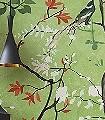 La-selva-fiorita-Blumen-Tiere-Blätter-Vögel-Äste-Asia-Fauna-Florale-Muster-FotoTapeten-Multicolor