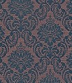 Lacrecia-Ginger-Ornamente-Blumen-Klassische-Muster-Braun-Anthrazit-petrol