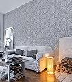 Lacrecia-Oyster-Ornamente-Blumen-Klassische-Muster-Grau-Creme