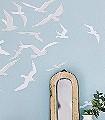 Larina,-col.-8-Tiere-Vögel-Fauna-Grau-Weiß-Hellblau