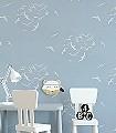 Larina,-col.-8-Tiere-Vögel-Fauna-Weiß-Hellblau