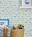 Letters-Play,-col.01-Buchstaben-KinderTapeten-Grün-Blau-Grau-Weiß