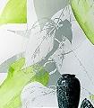 Leva-Blätter-Florale-Muster-Grün-Olive-Weiß