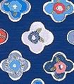 Linda,-col.02-Blumen-KinderTapeten-Rot-Blau-Weiß
