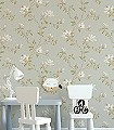 Lisanne,-col.02-Blumen-Blätter-Äste-kl.-Blümchen-Florale-Muster-Hellgrün-Weiß-Hellbraun-mint