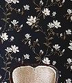 Lisanne,-col.05-Blumen-Blätter-Äste-kl.-Blümchen-Florale-Muster-Braun-Schwarz-Weiß