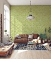 Little-Trees,-col.02-Blätter-20-50er-Moderne-Muster-Grün-Weiß