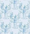 Lobster,-sky-blue-Tiere-Fauna-Blau-Hellblau