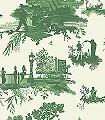 London-Toile,-greens-on-cream-Ornamente-Bäume-Figuren-Moderne-Muster-Grün-Hellgrün-Creme