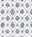 Lovis-Blumen-Rauten-Klassische-Muster-Blau-Grau-Anthrazit-Weiß