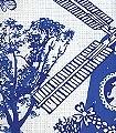 Lovisa-Tiere-Stickerei-Fauna-Moderne-Muster-Blau-Weiß-Multicolor