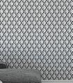 Lucio,-col.01-Rauten-Grafische-Muster-Anthrazit-Schwarz-Weiß-Hellbraun