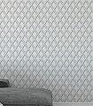Lucio,-col.03-Rauten-Grafische-Muster-Grau-Weiß-Creme-Perlmutt