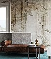 MAD.-WHITE-Blätter-Collage-Florale-Muster-FotoTapeten-Hellgrün-Creme-Hellbraun