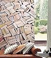 Maison-d'edition-Bücher-FotoTapeten-Creme-Hellbraun