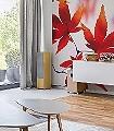 Maple-Leaves-Blätter-FotoTapeten-Rot-Weiß
