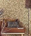 Mariam,-col.-05-Blätter-Florale-Muster-Gold-Braun-Creme
