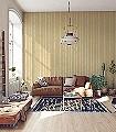 Marquee-Stripe-Streifen-Moderne-Muster-Weiß-Ocker