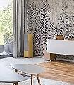 Marrakech,-L-Ornamente-Blumen-Moderne-Muster-FotoTapeten-Grün-Lila-Grau
