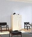 Marthe,-col.02-Quadrate/Rechtecke-Graphisch-Retro-Muster-Grafische-Muster-Weiß-Hellblau