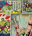 Marvel-Comic-Strip-Figuren-Comic-KinderTapeten-Weiß-Creme-Multicolor