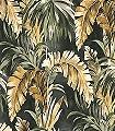 Masako,-col.-30-Blätter-Florale-Muster-Grün-Anthrazit-Creme-Ocker